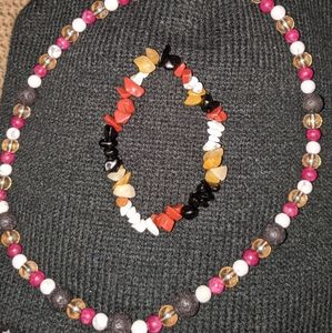 Jewelry - Handmade necklace and bracelet set